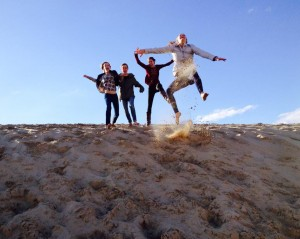 jumping dunes