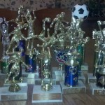 Pile of Trophies
