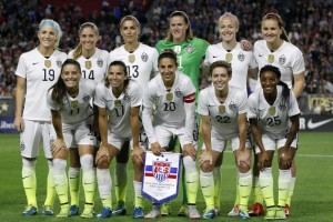 USWNT team photo
