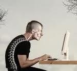 computer neck