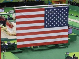 flag American Olympic